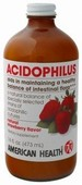 Acidophilus 16 fl oz (472 ml)-Strawberry