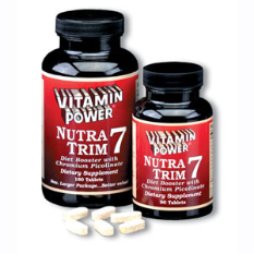 NUTRA TRIM 7, Diet Booster (90 Tablets)