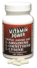 Triple Amino G. H. F (100 Tablets)