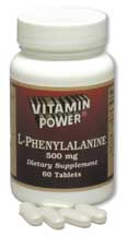 L-Phenylalanine 500mg (30 Tablets)