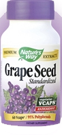 Grape Seed Extract 100mg, Standardized (60 Vcaps®)