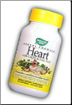 Heart with CoQ10 & Folic Acid  529mg Capsules (60-count)