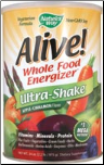 Alive! Soy Ultra-Shake Apple & Cinn (1.3 lbs Powder)