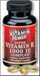 Natural Vitamin E - 1000 Complex (100 Softgels) (SKU: 13561583-1062R)