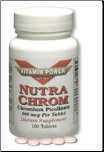 Chromium Picolinate Nutra Chrom 200 mcg (100 Tablets)