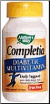 Completia® Diabetic, Iron-free (30 Tablets)