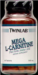 Mega L-Carnitine 500mg Tablets (60-count)