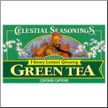 Green Tea-Honey/Lemon/Ginseng (20 Tea bags)