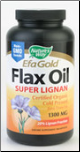 Flax Oil 1300 mg Super Lignan (100 softgels)