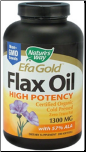 Flax Oil 1300mg (200 Softgels)