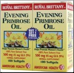 Evening Primrose Oil 1300mg (60 + 60 Softgels)