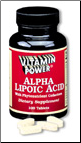 Alpha Lipoic Acid 50mg Plus (100 Tabs)