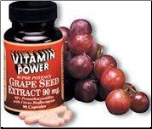 Grape Seed Extract 90mg Capsules (90-count)