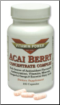 ACAI BERRY Concentrate  (100 Capsules)